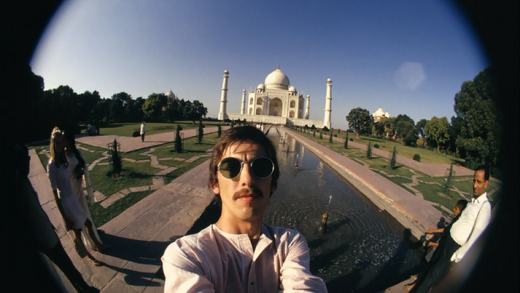 George Harrison's fisheye self-portraits in India, 1966 (1).png
